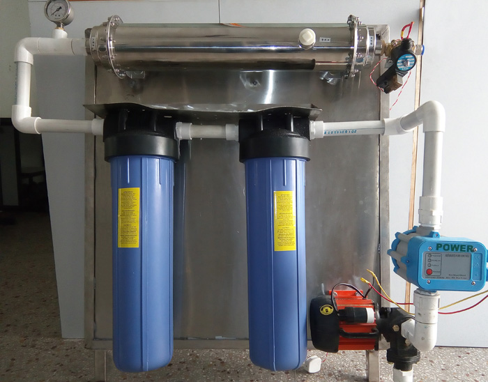 IRA Economy - water purification system for clubs, restaurants, health centers and households