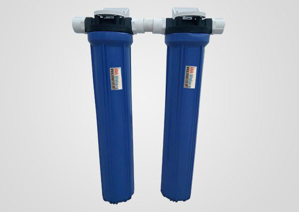 IRA Bath dual Series water filter and antiscalant for bathrooms