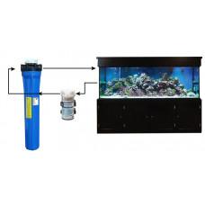 External Canister Aquarium Filter for Hotel, Hospital and Industrial Aquarium